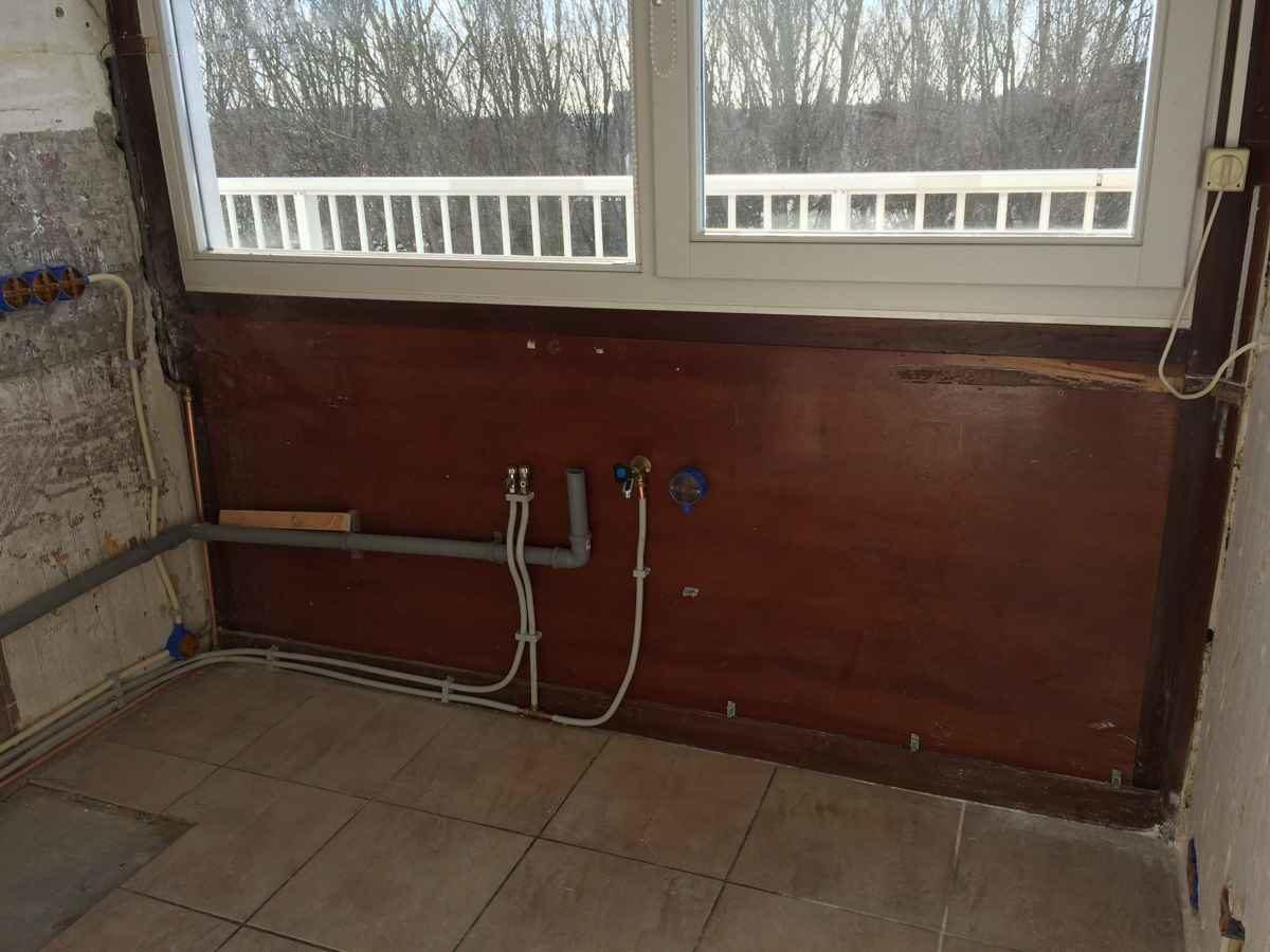 Gas, water en elektra aanleggen